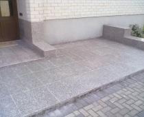 granitinio stalvirscio china juparana montazas